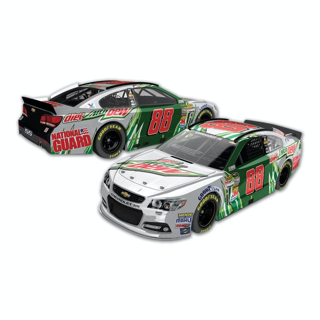 Hendrick Motorsports Dale Jr. #88 2014 Diet Mountain Dew Chevy SS Nascar Sprint Cup Series  1:24 Scale Diecast HOTO