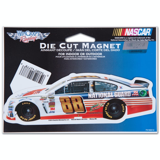 Hendrick Motorsports Dale Jr. 2014 2x6 magnet