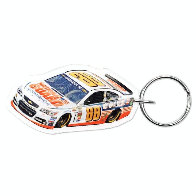 Hendrick Motorsports Dale Jr. 2014 Premium acrylic mirrored key ring