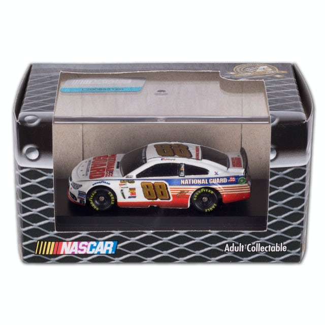 Hendrick Motorsports Dale Jr. - National Guard 1:87 Scale Die-Cast Jewel Case