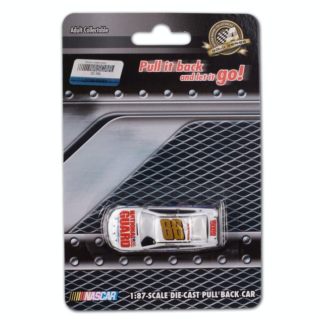Hendrick Motorsports Dale Jr. - National Guard 1:87 Scale Die-Cast Pullback