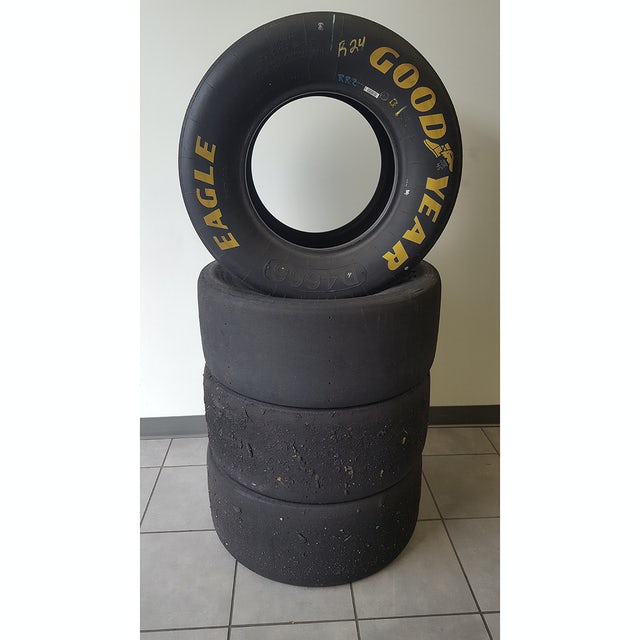 Hendrick Motorsports Dale Earnhardt Jr Race Used Tire