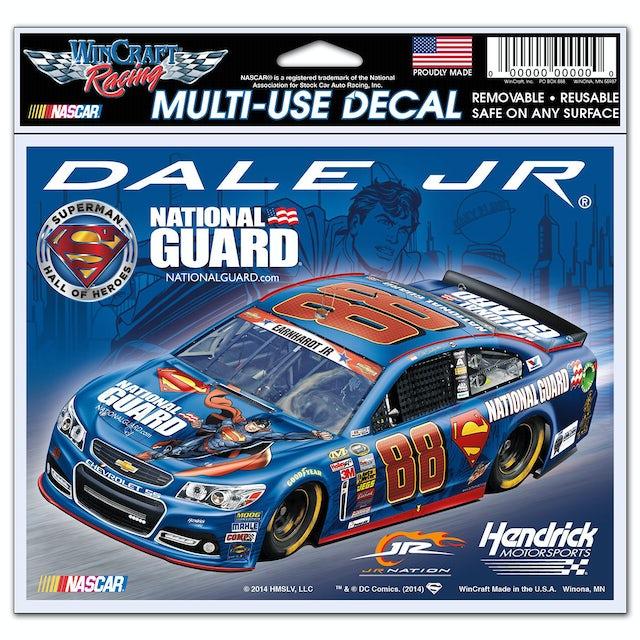 "Hendrick Motorsports Dale Jr. 2014 Superman 4.5"" x 6"" Multi-Use Decal 12oz"