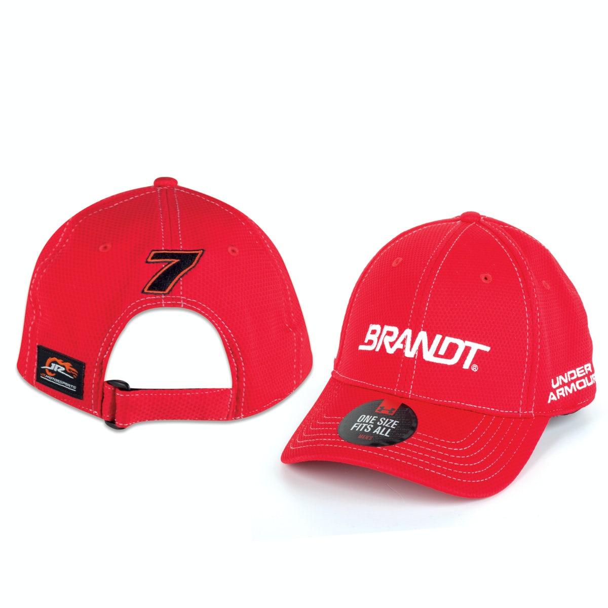 NASCAR Justin Allgaier Vintage Trucker Hat One Size Fits Most Red//Black Brandt