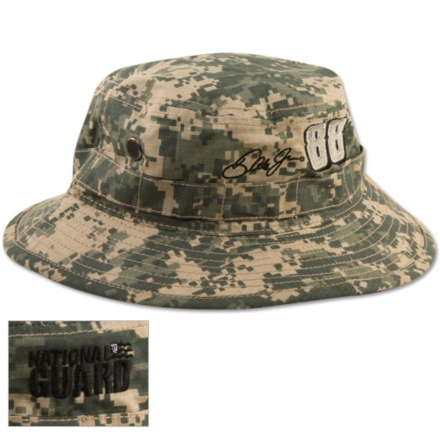 Hendrick Motorsports Dale Jr Nat'l Guard Boonie/Floppy Camo Hat