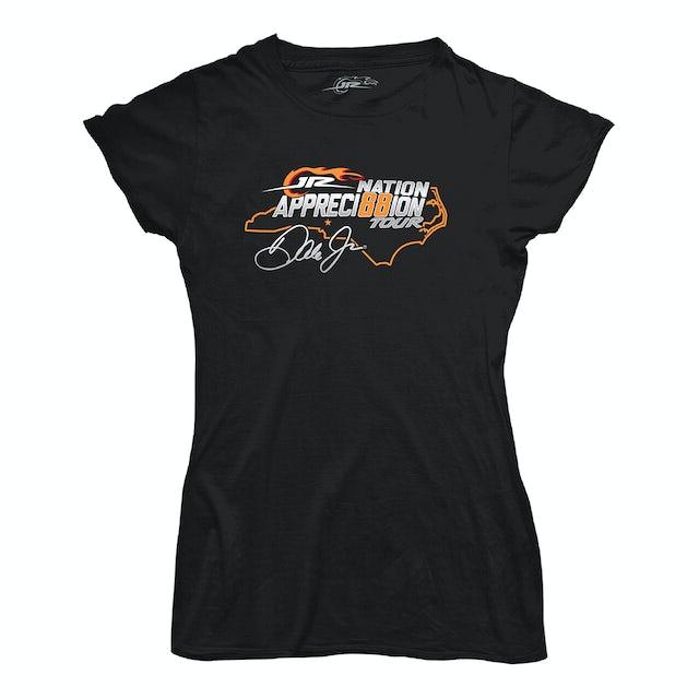 Hendrick Motorsports JR Nation Appreci88ion Tour Ladies T-shirt