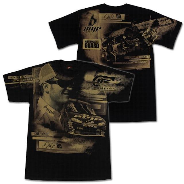 Hendrick Motorsports Dale Jr EXCLUSIVE 2009 Total Print T-Shirt