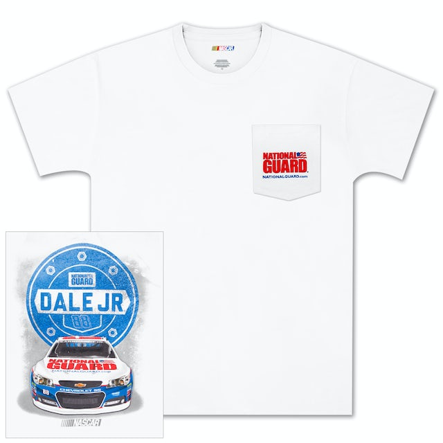 Hendrick Motorsports Dale Jr #88 Pocket T-shirt