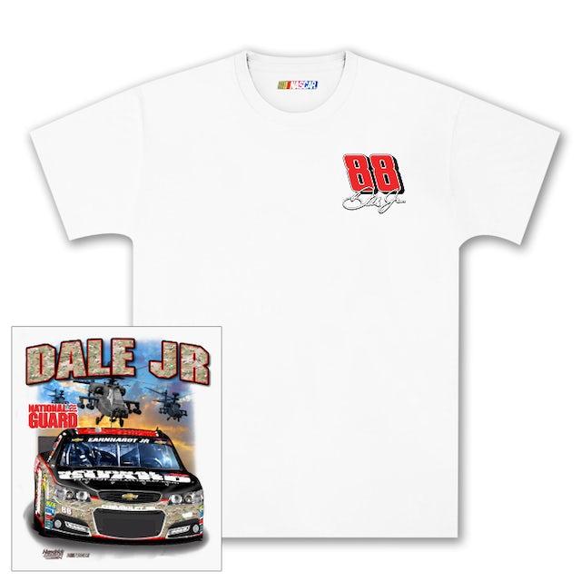 Hendrick Motorsports Dale Jr #88 National Guard Camo Charlotte T-shirt