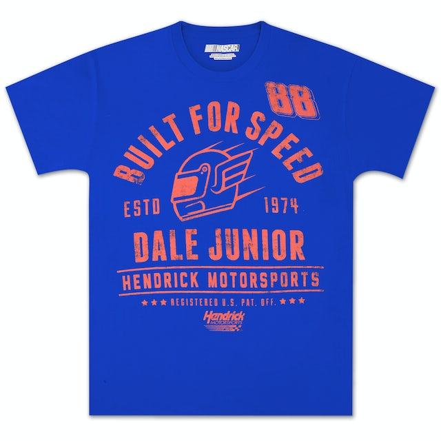 Hendrick Motorsports Dale Jr #88 Old School Helmet T-shirt