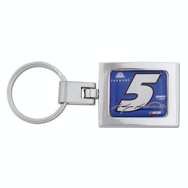 Hendrick Motorsports Kasey Kahne #5 Farmers Domed Premium Key Ring