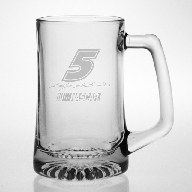 Hendrick Motorsports Kasey Kahne 25oz Etched Tankard Glass