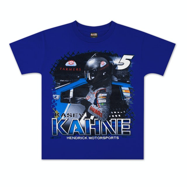 Hendrick Motorsports Kasey Kahne #5 Farmers Youth Showtime T-shirt