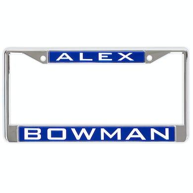 Hendrick Motorsports Alex Bowman #88 2018 NASCAR Inlaid Metal License Plate Frame