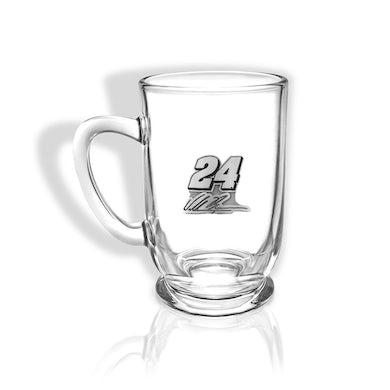 Hendrick Motorsports William Byron #24 Pewter Crested Bolero Glass