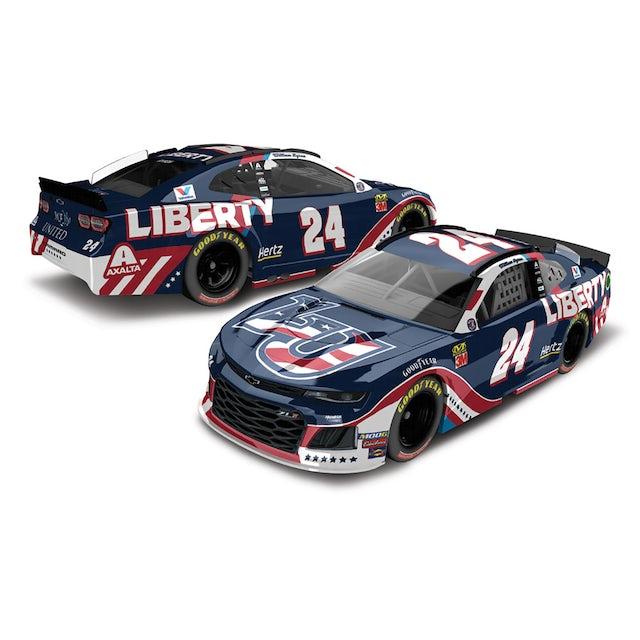 Hendrick Motorsports William Byron 2019 #24 Patriotic Liberty University Elite 1:24 - Die Cast