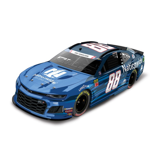 Hendrick Motorsports Alex Bowman 2019 #88 NASCAR Nationwide Patriotic Elite 1:24 - Die Cast