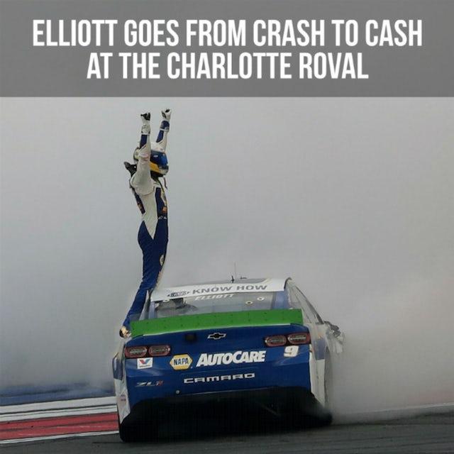 Hendrick Motorsports Chase Elliott NASCAR Bank of America Roval 400 Race Win 1:24 HO Die-Cast