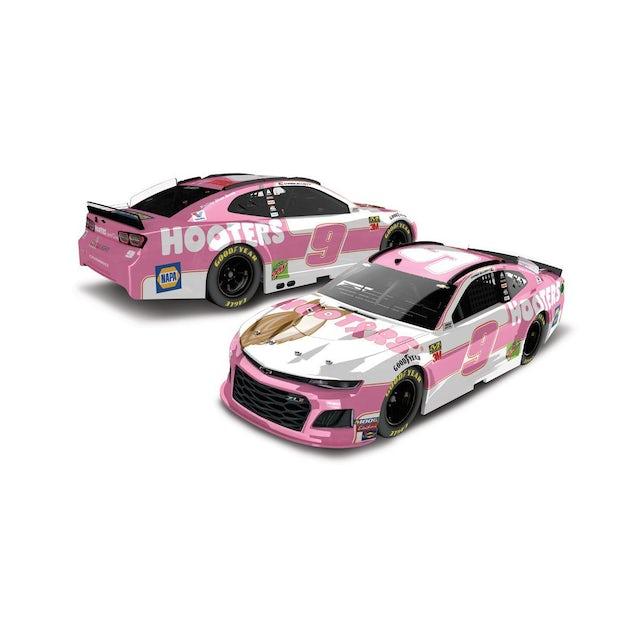 "Hendrick Motorsports Chase Elliott #9 2019 Hooter's ""Give A Hoot"" Chevrolet NASCAR Elite 1:24 - Die Cast"