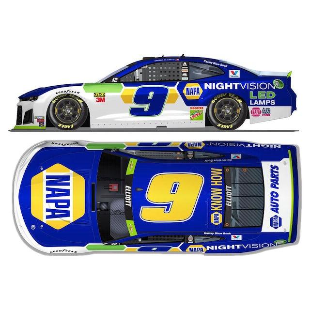 Hendrick Motorsports Chase Elliott #9 2019 Napa Nightvision NASCAR HO 1:24 - Die Cast
