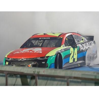 Hendrick Motorsports Autographed William Byron 2021 NASCAR Dixie Vodka 400 Winner 1:24 ELITE Die-Cast