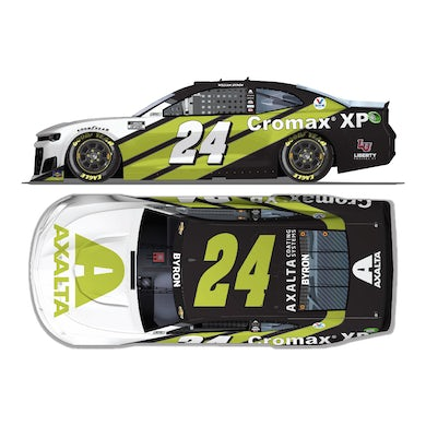 """Hendrick Motorsports Autographed William Byron #24 2021 Axalta """"Color of the Year"""" Chevrolet 1:24 ELITE Die-Cast"""