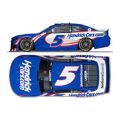 Hendrick Motorsports Autographed Kyle Larson #5 2021 HendrickCars.com Chevrolet 1:24 ELITE Die-Cast