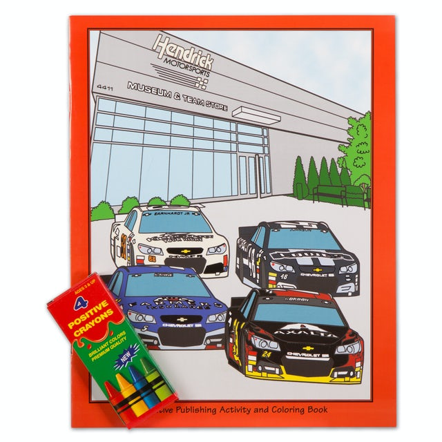 Hendrick Motorsports Activity Coloring Book