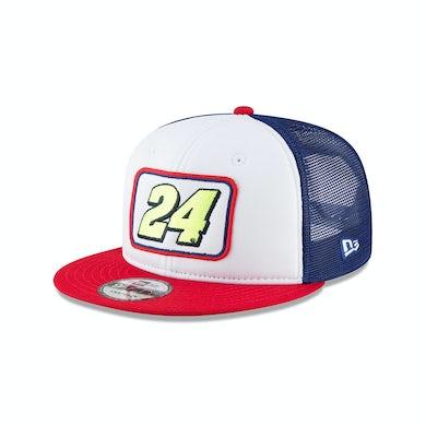 Hendrick Motorsports William Byron 2018 #24 Team Pride Trucker NEW ERA 9FIFTY Cap