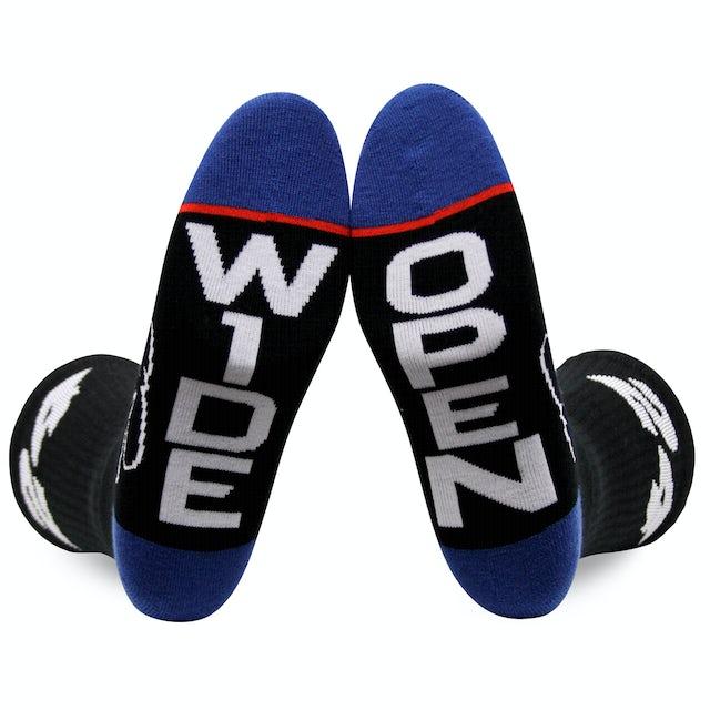 """Hendrick Motorsports Exclusive - #24 """"Wide Open"""" Socks"""