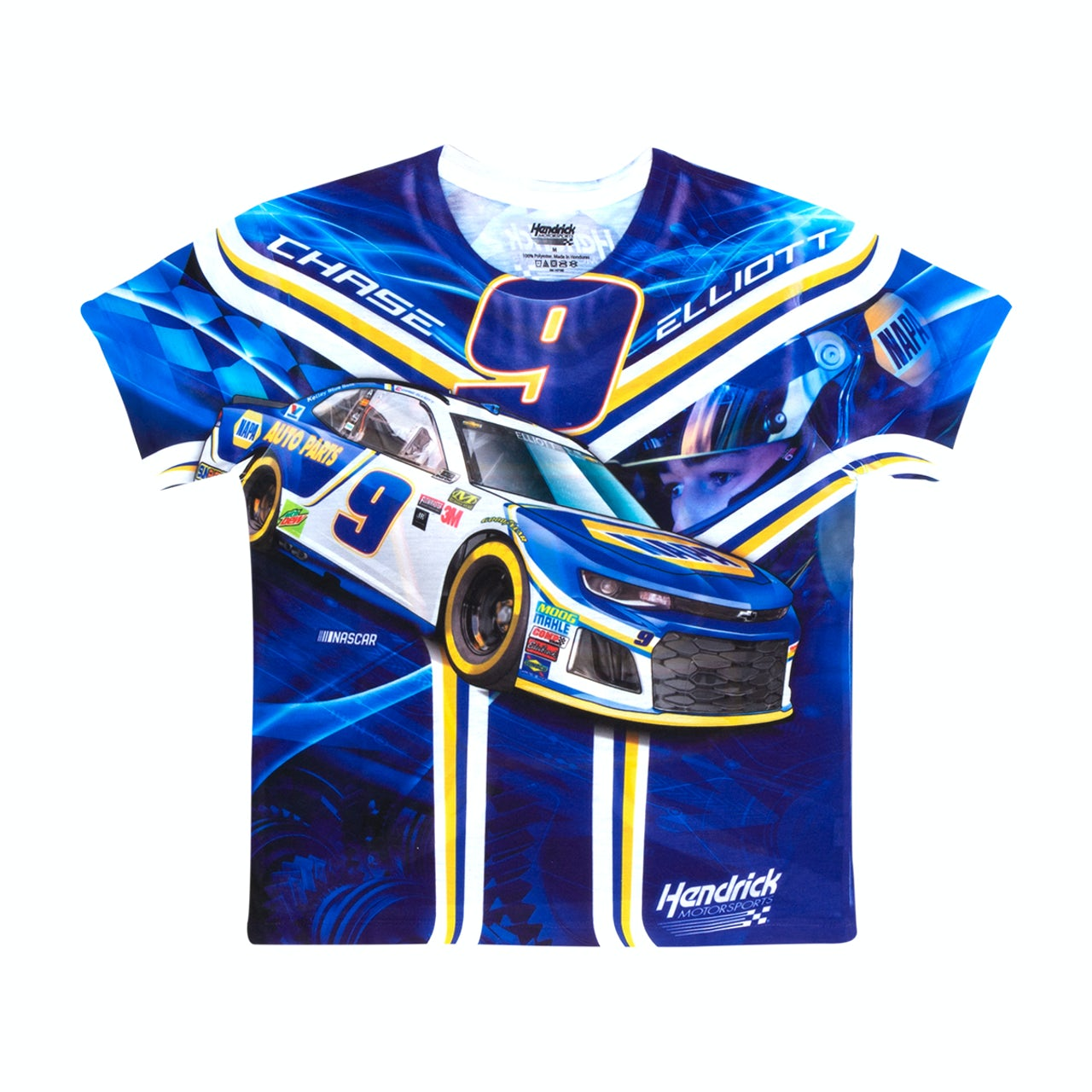 Chase Elliott T Shirt >> Hendrick Motorsports Chase Elliott 9 Youth Sublimated Driver T Shirt