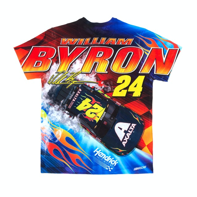 Hendrick Motorsports William Byron #24 Prism Sublimated Driver T-shirt