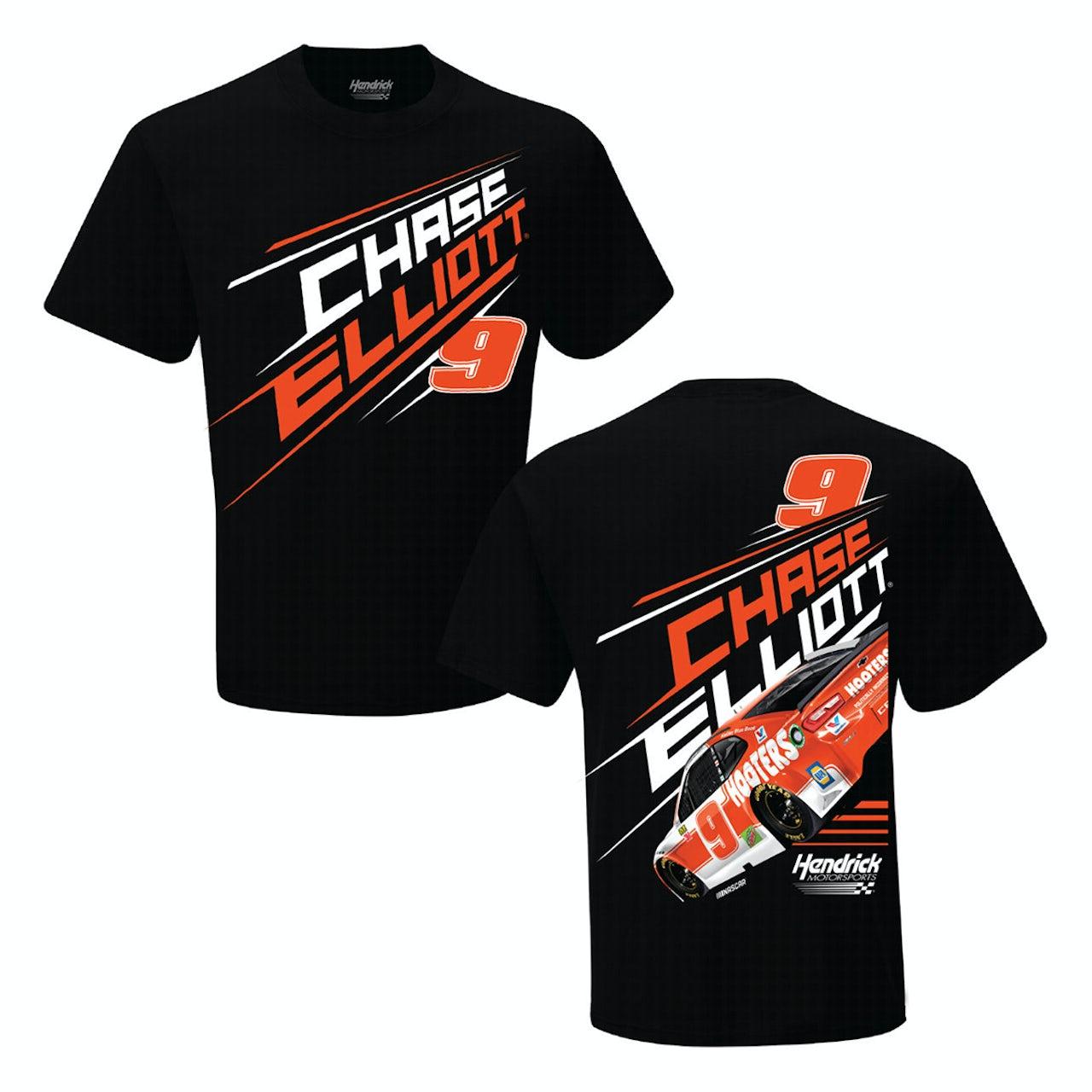 Chase Elliott T Shirt >> Hendrick Motorsports Chase Elliott 9 2019 Nascar Hooters 2 Spot T Shirt