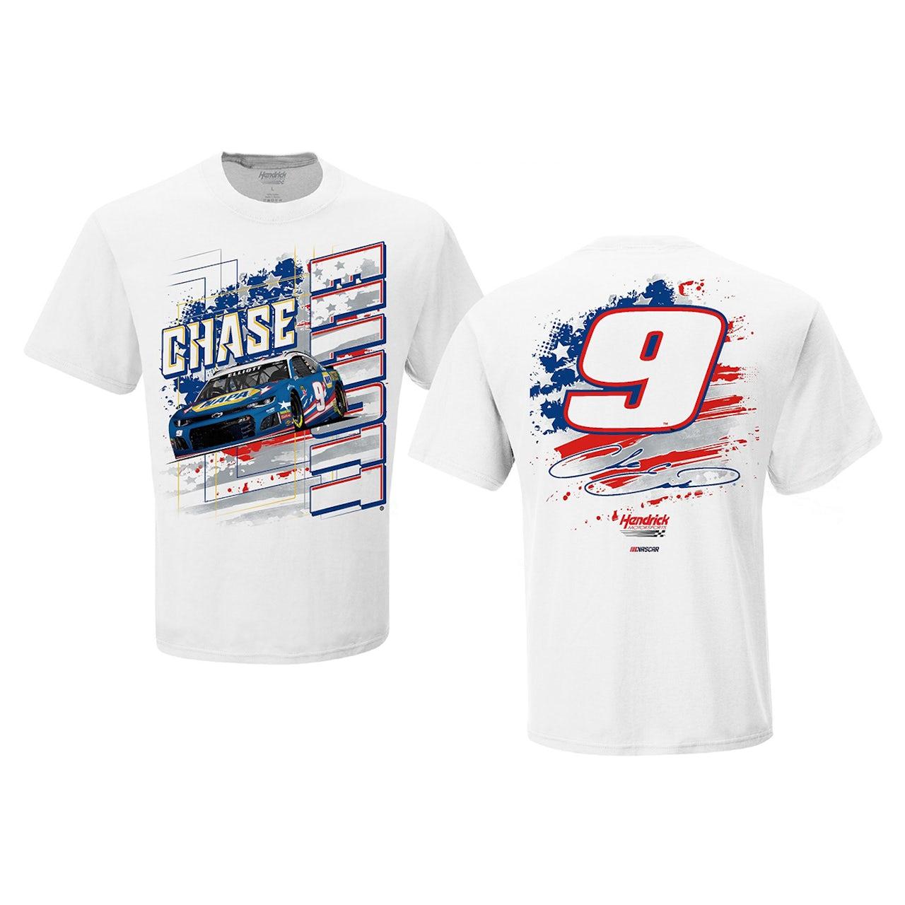 Chase Elliott T Shirt >> Hendrick Motorsports Chase Elliott 9 2019 Nascar Stars And Stripes
