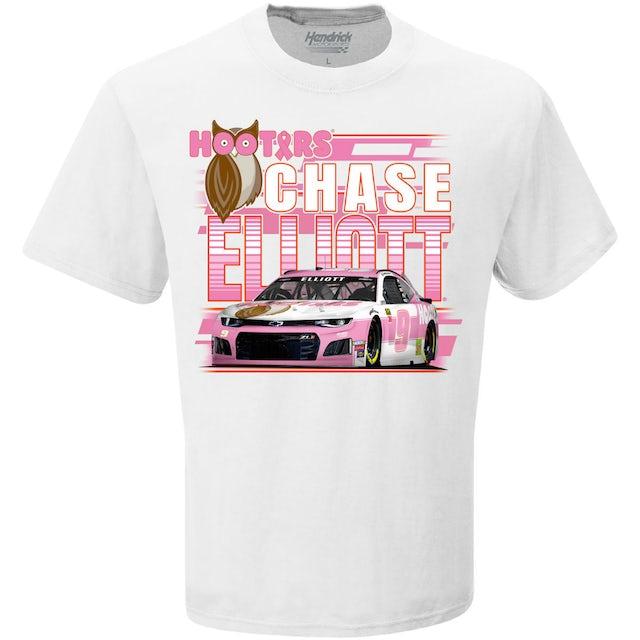 "Hendrick Motorsports Chase Elliott #9 ""Give a Hoot"" BCA T-shirt"