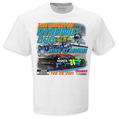 Hendrick Motorsports William Byron 2021 NASCAR Dixie Vodka 400 Winner T-shirt