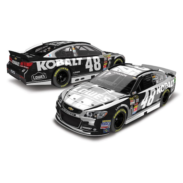 Hendrick Motorsports Jimmie Johnson #48 2014 Lowe's / Kobalt Tools 1:24 Scale Diecast COLOR CHROME