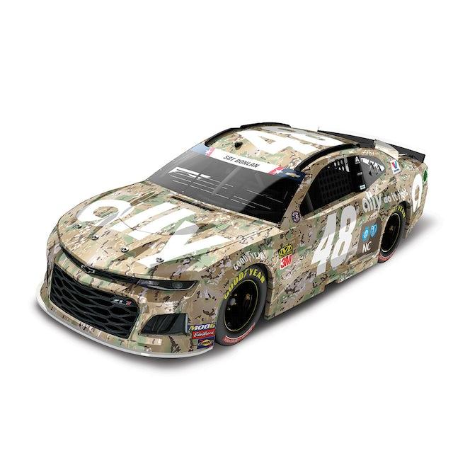 Hendrick Motorsports Jimmie Johnson 2019 #48 NASCAR Ally Patriotic Elite 1:24 - Die Cast