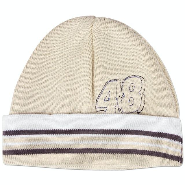Hendrick Motorsports Jimmie Johnson #48 Infant Tan Knit Beanie