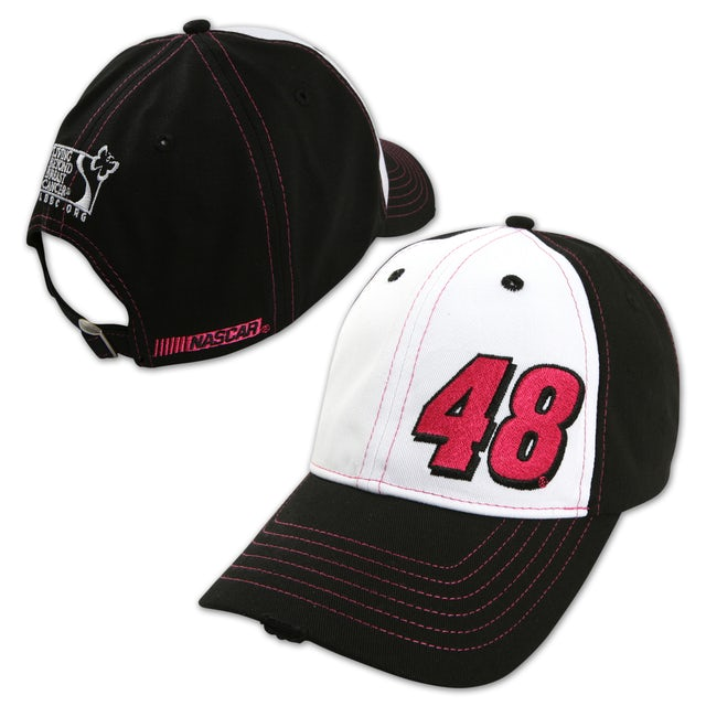 Hendrick Motorsports Jimmie Johnson Paint the Track Pink Driver Hat