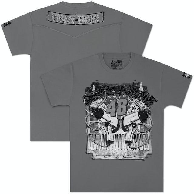Hendrick Motorsports Jimmie Johnson #48 Applique T-shirt