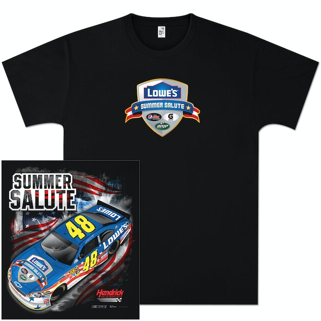 Hendrick Motorsports Jimmie Johnson #48 Summer Salute T-shirt