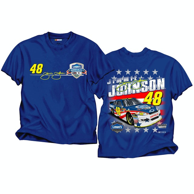 Hendrick Motorsports Pre-Order EXCLUSIVE Limited Edition Jimmie Johnson Summer Salute T-Shirt.