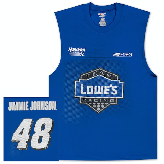 Hendrick Motorsports Jimmie Johnson #48 Lowes Sleeveless Shooter T-shirt