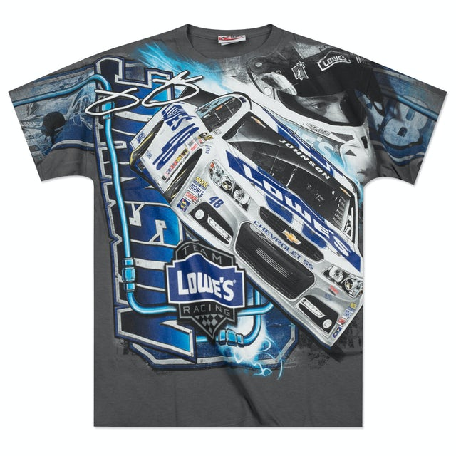 Hendrick Motorsports Jimmie Johnson - 2014 Chase Authentics  Lowe's Adult Momentum Total Print Tee