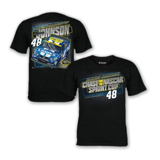 Hendrick Motorsports Jimmie Johnson - Lowe's Nascar Chase for the Sprint Cup Tee