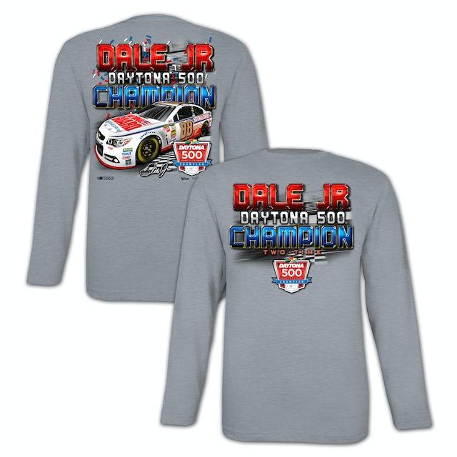 Hendrick Motorsports Dale Jr. 2014 Daytona 500 Long-sleeve T-shirt