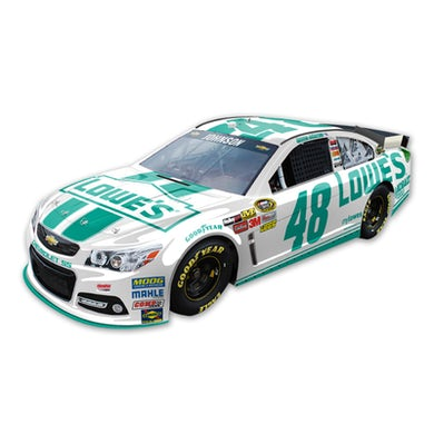Jimmie Johnson #48 Lowe's Emerald Green 1:24 Scale Diecast HOTO