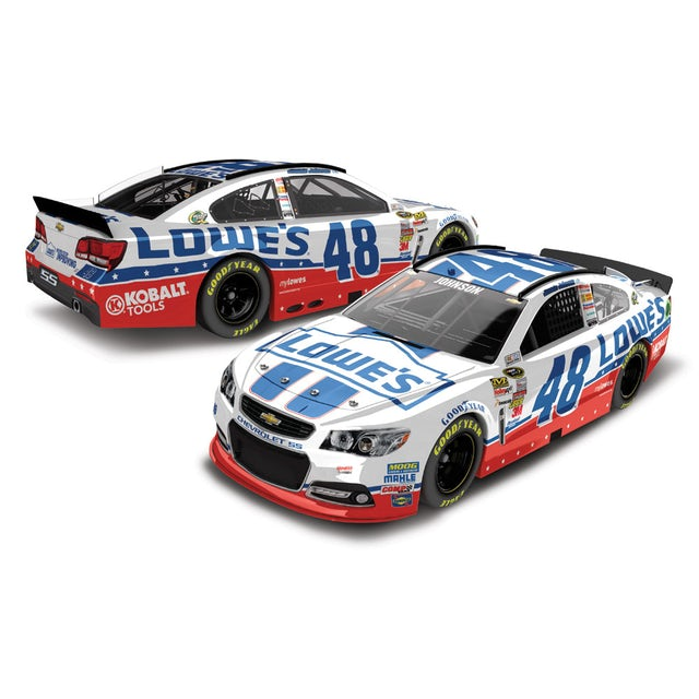 Jimmie Johnson #48 2013 Lowes Unites 1:24 Scale Diecast HOTO