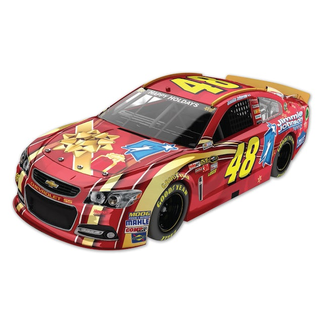 Jimmie Johnson #48 Foundation Holiday 1:24 Scale Diecast HOTO